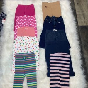 Baby Girl 12-18 Month Bundle of Pants 20 Pieces